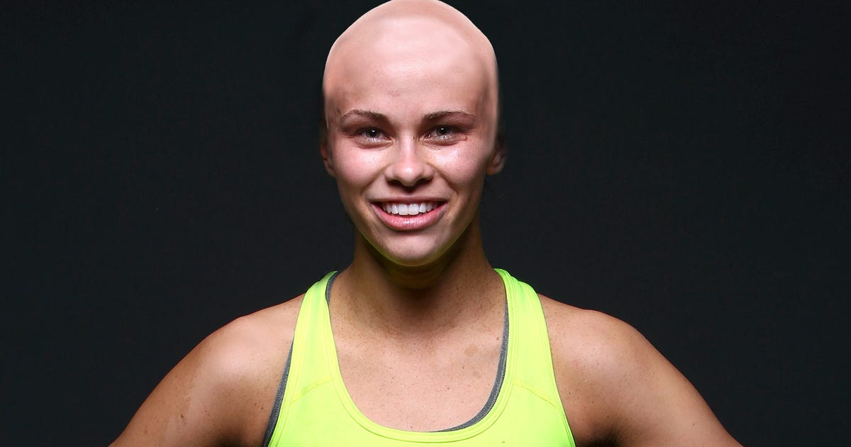 Paige VanZant talks about shaving her head for cancer ...