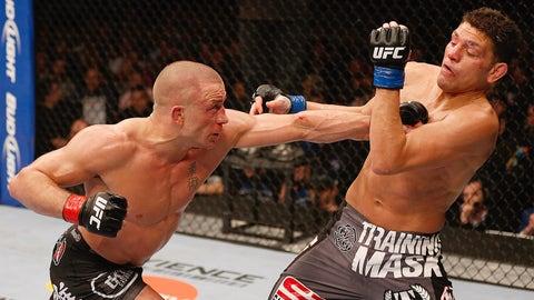 3. UFC 158: Georges St-Pierre vs. Nick Diaz