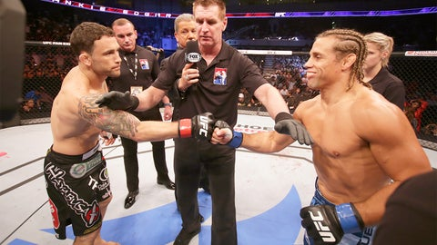 UFC Fight Night: Edgar vs. Faber in photos