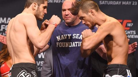 UFC 187 Weigh-in photos