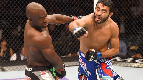 UFC 187: Johnson vs. Cormier action gallery