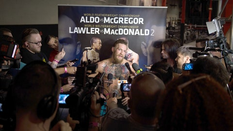 Conor McGregor Open Workout