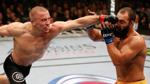 Georges St. Pierre: 12 wins