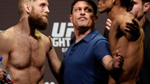 Fight Night Condit vs. Alves Weigh-in Gallery