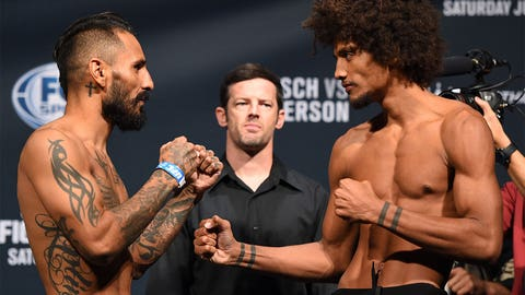 UFC Fight Night: Boetsch vs. Henderson Weigh-in Gallery