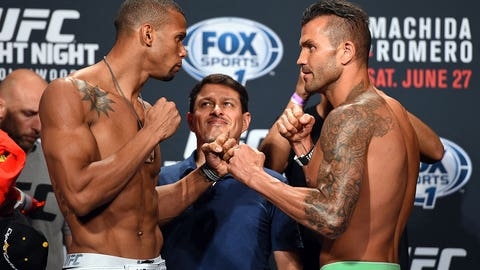 UFC Fight Night: Machida vs. Romero Weigh-in Gallery