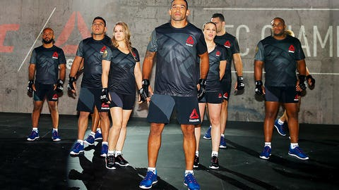 UFC fighters show off new Reebok fight kits