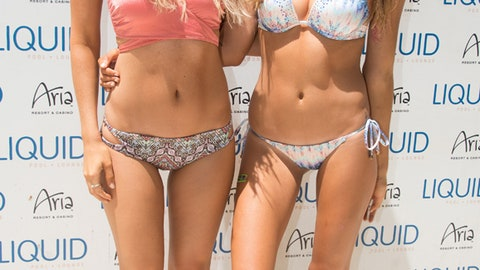 Fighters, Octagon Girls party at the pool during International Fight Week