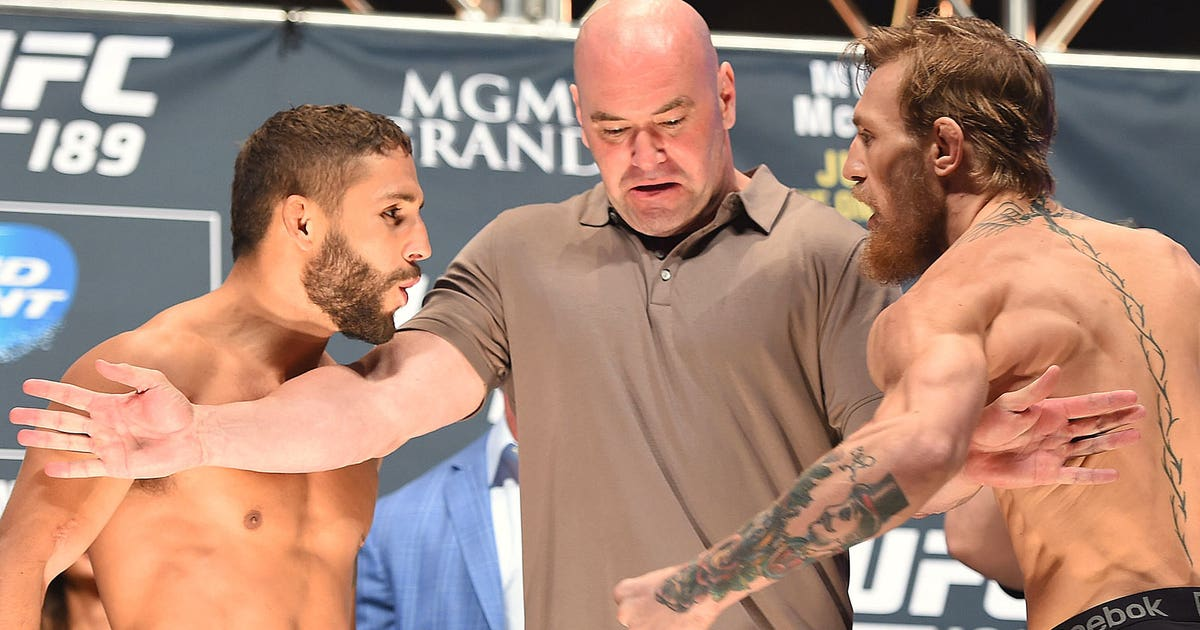 Chad Mendes Conor Mcgregor Owes Me A Rematch Fox Sports