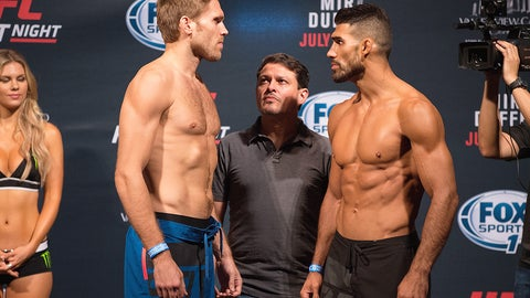 UFC Fight Night: Mir vs. Duffee weigh-in gallery