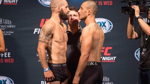 UFC Fight Night: Mir vs. Duffee weigh-in gallery