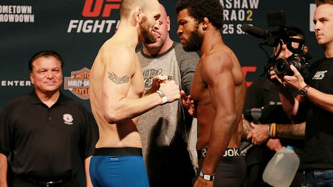 UFC Fight Night: Dillashaw vs. Barao 2 weigh-in gallery