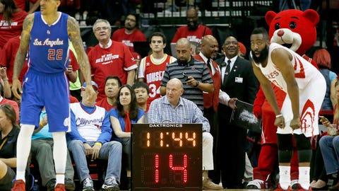 One full NBA possession (24 seconds)