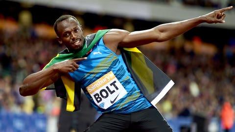 Usain Bolt's world record 200-meter dash (19.19 seconds)