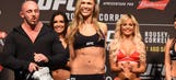 Check out photos from the UFC 190 weigh-in