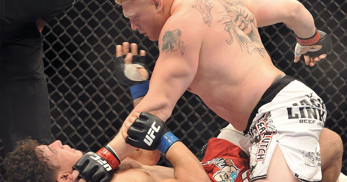 Brock Lesnar volta no UFC 200 com vitória sobre Mark
