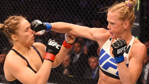 Rematch: Ronda Rousey vs. Holly Holm