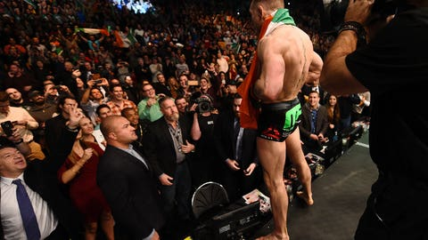 Jan. 18 -- Conor McGregor takes over