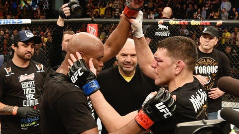 Jan. 31 -- Anderson Silva, Nick Diaz return for superfight