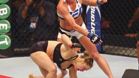 Nov. 14 -- Down goes Ronda Rousey!