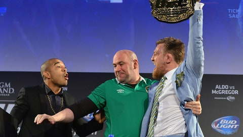 Conor McGregor's best verbal jabs at Jose Aldo