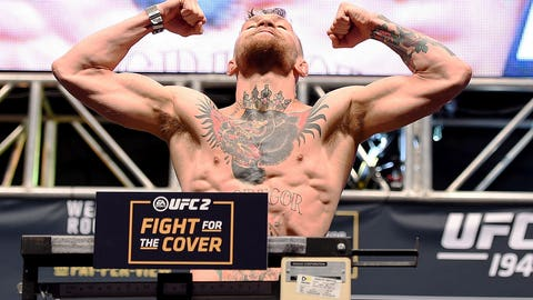 UFC 194: Aldo vs. McGregor weigh-in photos