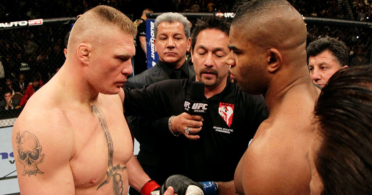 Alistair Overeem on rematch with Brock Lesnar: 'Maybe one ...