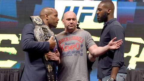 Daniel Cormier vs. Jon Jones at UFC 2014 (July 29)