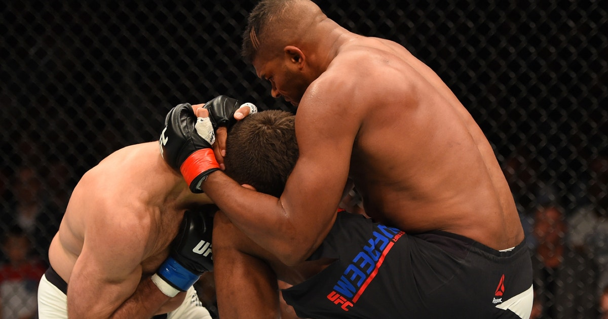 It S Finally Time For Alistair Overeem To Get His