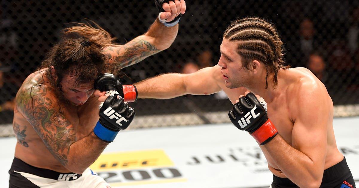 Brian Ortega Crushes Clay Guida With Devastating Knee At