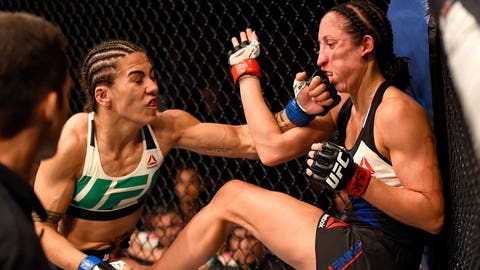 Jessica Andrade vs. Angela Hill