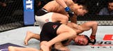 Keita Nakamura submits Kyle Noke with one-second left in second round