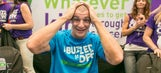 Rob Gronkowski goes bald to raise money for children with cancer