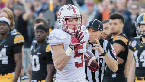 Christian McCaffrey, Jr., Stanford
