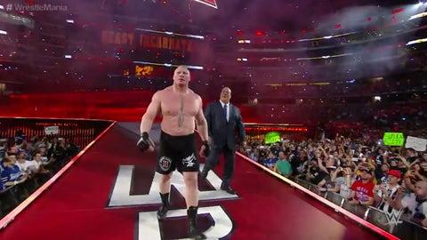 Lesnar vs. Dean Ambrose, WrestleMania 32