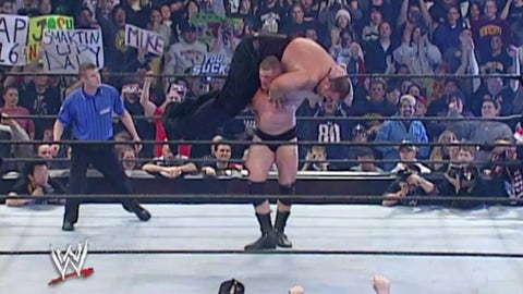 Lesnar vs. The Big Show, Royal Rumble 2003