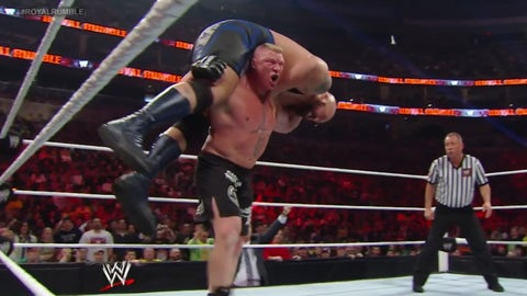 Lesnar vs. The Big Show, Royal Rumble 2014