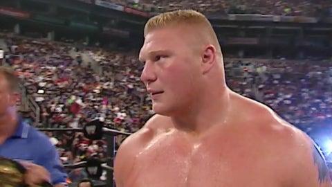 Lesnar vs. Kurt Angle, SummerSlam 2003