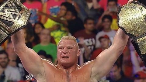 Lesnar vs. John Cena, SummerSlam 2014