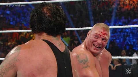 Lesnar vs. The Undertaker, SummerSlam 2015