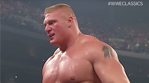 Lesnar is the King of the Ring - June, 2002