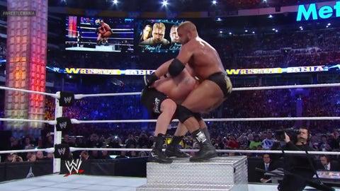 Lesnar vs. Triple H, WrestleMania 29