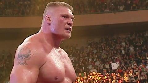 Lesnar vs. Goldberg, WrestleMania XX