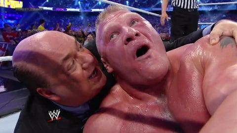 Lesnar vs. The Undertaker, WrestleMania XXX