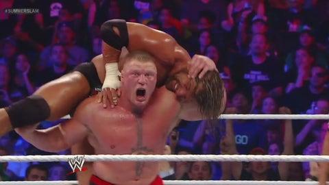 Lesnar vs. Triple H, SummerSlam 2012