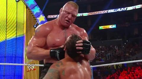 Lesnar vs. CM Punk, SummerSlam 2013