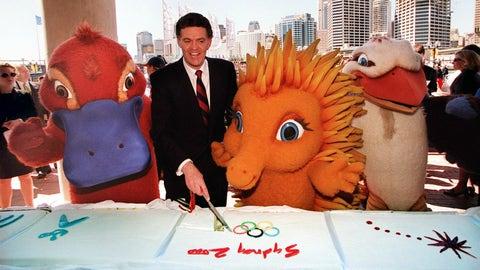 Sydney 2000 - Olly, Syd, Millie