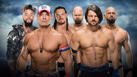 John Cena & Enzo and Cass (-300) v. The Club (+200)