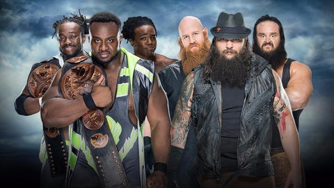 The New Day (+250) v. The Wyatt Family (-400)
