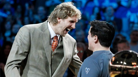 Dallas Mavericks (previous ranking: 28)